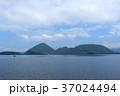洞爺湖 中島 カルデラ湖の写真 37024494