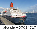 にっぽん丸 横浜港 停泊の写真 37024717