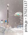 豪雪による交通マヒ 37025137