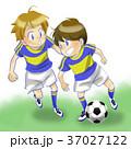サッカー 少年 子どものイラスト 37027122