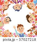 三世代家族 家族 ベクターのイラスト 37027218