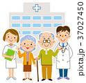 介護 医者 看護士のイラスト 37027450