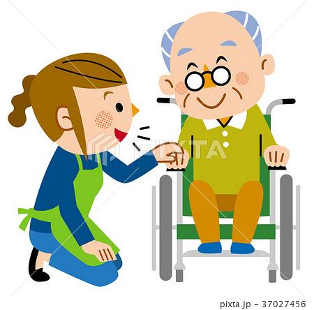 介護 訪問介護  話しかけるヘルパー 37027456