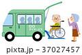 介護 老老介護  デイサービスの送迎 37027457