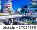 埼玉 川越駅 東口駅前の風景 37027656