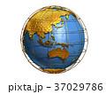 地球 世界 CGのイラスト 37029786