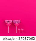 キャンディー ハート ハートマークのイラスト 37037062