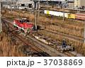 入換作業中のハイブリッド機関車HD300試作機 37038869