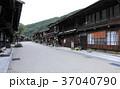 9月 朝の奈良井宿 37040790
