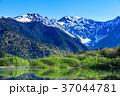 長野_新緑の上高地大正池 37044781