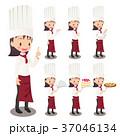 シェフ セット 料理人のイラスト 37046134