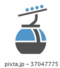 キャビン アイコン 交通のイラスト 37047775