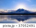 静岡_田貫湖ダイヤモンド富士 37052491