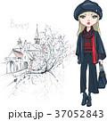 ブルージュ ファッション 流行のイラスト 37052843
