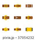 ベルト バックル アイコンのイラスト 37054232