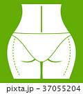 グリーン ヒップ イコンのイラスト 37055204