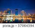 川 街 都会の写真 37064394