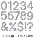 数字 フォント ストーンの写真 37071360