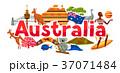 Australia banner design. Australian traditional 37071484