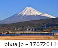 風景 富士山 山の写真 37072011