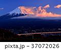 風景 富士山 山の写真 37072026