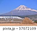 富士山 山 新幹線の写真 37072109