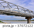 富士山 新幹線 乗り物の写真 37072122