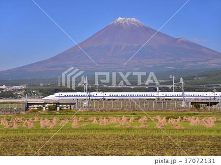 新幹線と富士山-5531 37072131