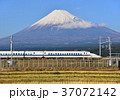 富士山 山 新幹線の写真 37072142