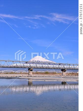 富士川と富士山-5557 37072151