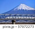 風景 富士山 新幹線の写真 37072273