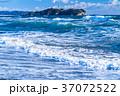 《神奈川県》江ノ島を望む・湘南海岸 37072522