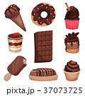 チョコレート 食 料理のイラスト 37073725