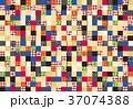 背景 タイル 模様のイラスト 37074388