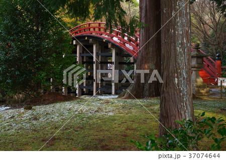 雪の丹生都比売神社 かつらぎ町 和歌山県 37074644