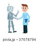 ロボット アンドロイド 科学者のイラスト 37078794