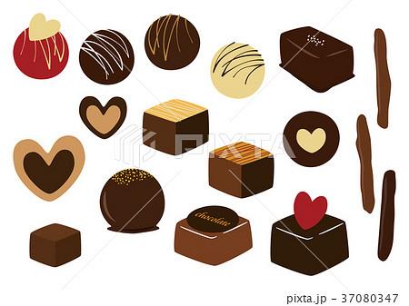 チョコレート イラストのイラスト素材