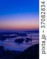 【瀬戸内しまなみ海道】来島海峡大橋 日没後 37082834