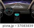 車 自動車 インテリアのイラスト 37083839
