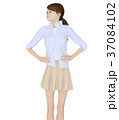 女性 ファッション ポーズのイラスト 37084102