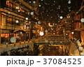 銀山温泉 冬 雪の写真 37084525