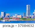 神奈川 横浜みなとみらいの風景 37084632