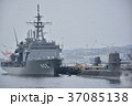 海上自衛隊・停泊中の潜水艦と駆逐艦 37085138