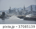 海上自衛隊・停泊中の潜水艦と駆逐艦 37085139