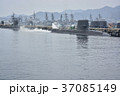 海上自衛隊・停泊中の潜水艦と駆逐艦 37085149