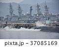 海上自衛隊・停泊中の潜水艦と駆逐艦 37085169