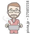 ベクター 男性 髭のイラスト 37085558