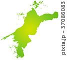 愛媛県地図 37086083