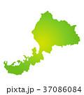 福井県地図 37086084