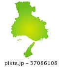 ベクター 兵庫県 地図のイラスト 37086108
